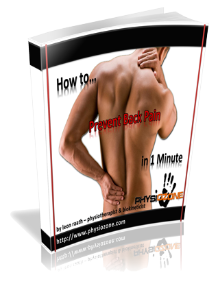 How to... Prevent Back Pain in 1 Minute